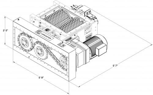 roll crusher diagram