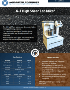 K-1-High-Shear-Lab-Mixer