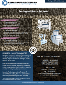 Testing & Rental Services